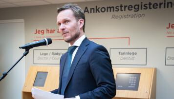 Direktør i SiO helse Trond Morten Nejad-Trondsen