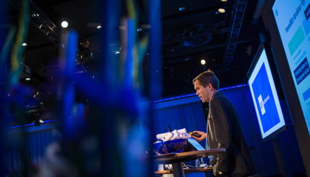 Forskningsrådet avtroppende direktør John-Arne Røttingen. Forskningsrådet høster kritikk for retningsløs evaluering.