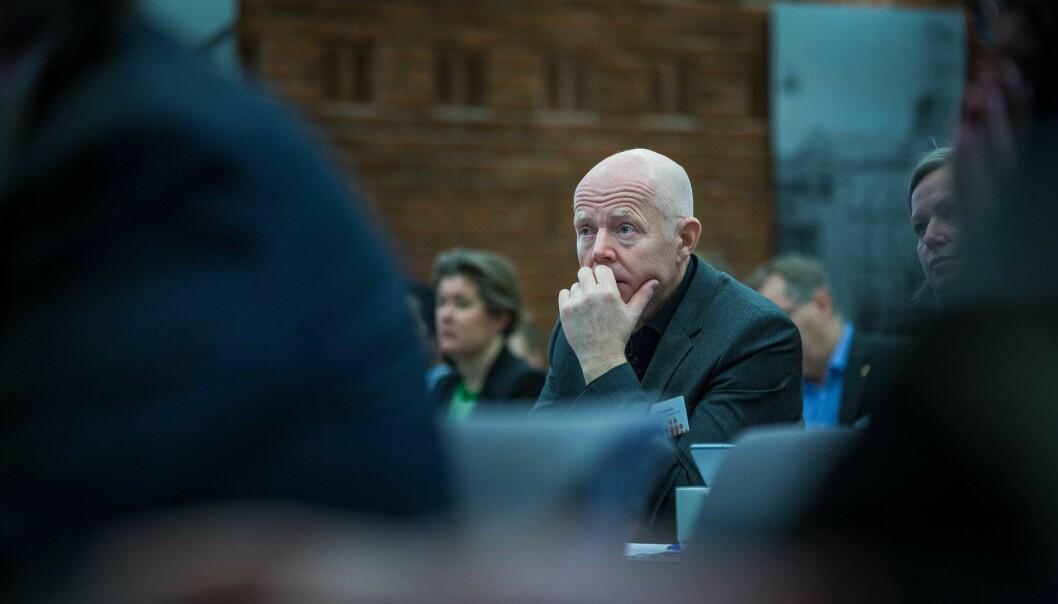 Forfatterne av innlegget spør seg om Ole Gustavsen (bildet), rektor ved Arkitektur- og designhøgskolen i Oslo, tar tilbakemeldingene fra studentene på alvor.