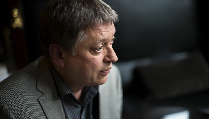 Alf Rasmussen, generalsekretær i UHR, møtte Kunnskapsdepartementet 5. mars.