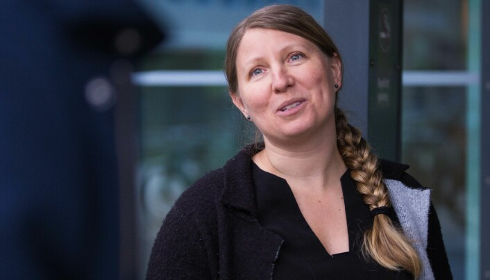 Leder i Forskerforbundet, Guro Lind, er skuffet over at regjeringen ikke har funnet penger.