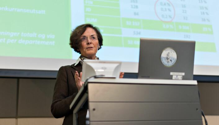 Styreleder ved NMBU, Siri Hatlen, mener lønna som NMBU-rektor gjenspeiler ansvaret og kompleksiteten i stillingen.