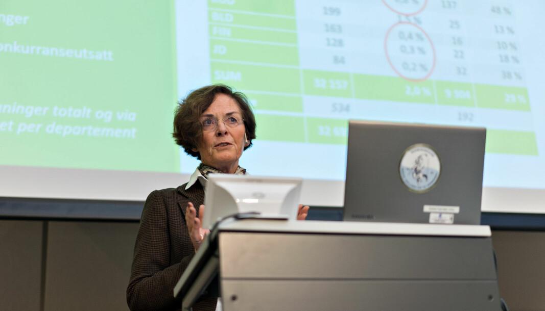 Siri Hatlens kal lede utvalget som skal vurdere helheten i finansiering av universiteter og høgskoler.