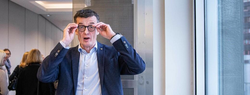 Rektor ved Universitetet i Stavanger, Klaus Mohn, vil sjå betre tal på delen mellombels tilsette ved universitetet.