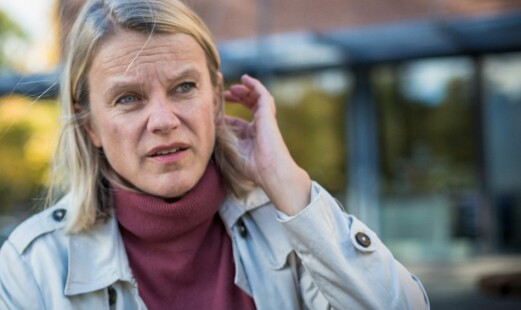 08.10.2018 Stasbudsjettet ble lagt frem. Nina Sandberg (Ap)