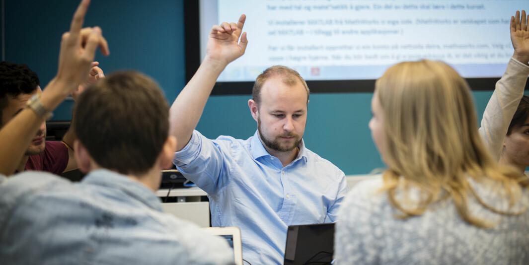 Da skolene stengte, stengte man samtidig lærerstudentenes mulighet til å lære, fastslår innleggsforfatteren. Dette bildet er ment som illustrasjon.