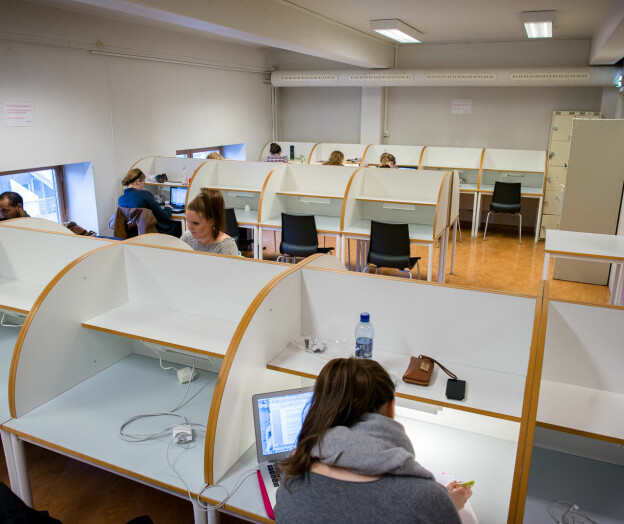 Studenter i Viken-kommuner får komme tilbake på lesesalen