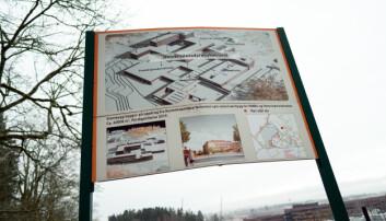 Den nye veterinærbygget på campus Ås