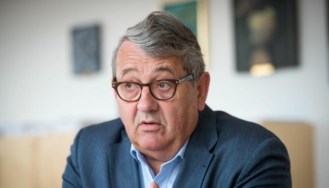 Riksrevisor Per-Kristian Foss la tirsdag fram Riksrevisjonens årlige gjennomgang av statsforvaltningen.