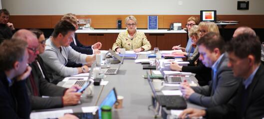 Følg styremøtet ved Nord universitet