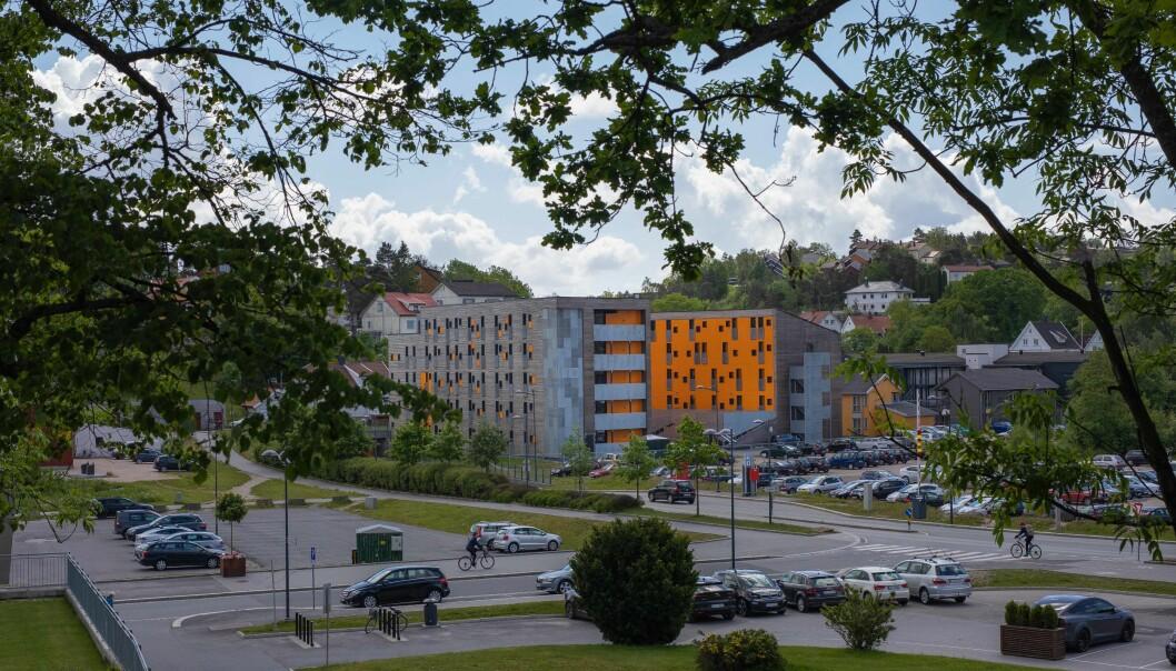 Studenten som ble tatt for fusk tok en eksamen ved Høgskolen i Østfold.