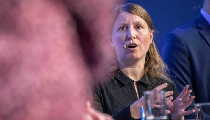Guro Lind, leder i Forskerforbundet.