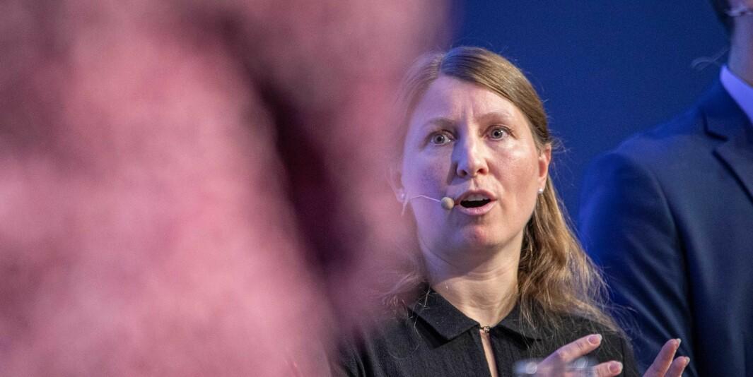 Guro Elisabeth Lind er leder i Forskerforbundet.