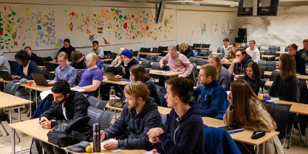 Filosofiforelesning på NTNU.