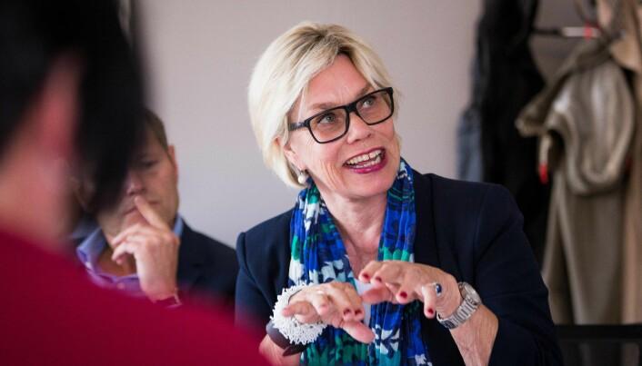 Professor Fanny Duckert ved UiO skulle også lede et finansieringsutvalg som ble nedlagt før de fikk begynt i 2013.