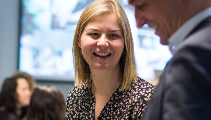 Guri Melby reiser til Sogndal mandag 10. august, blant annet for å delta på velkomsten for nye studenter ved Høgskulen på Vestlandet.