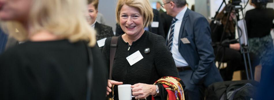 Rektor på UiT Norges arktiske universitet, Anne Husebekk, mener at statsråden i visse tilfeller kan overstyre universitetsstyrene. Foto: Skjalg Bøhmer Vold