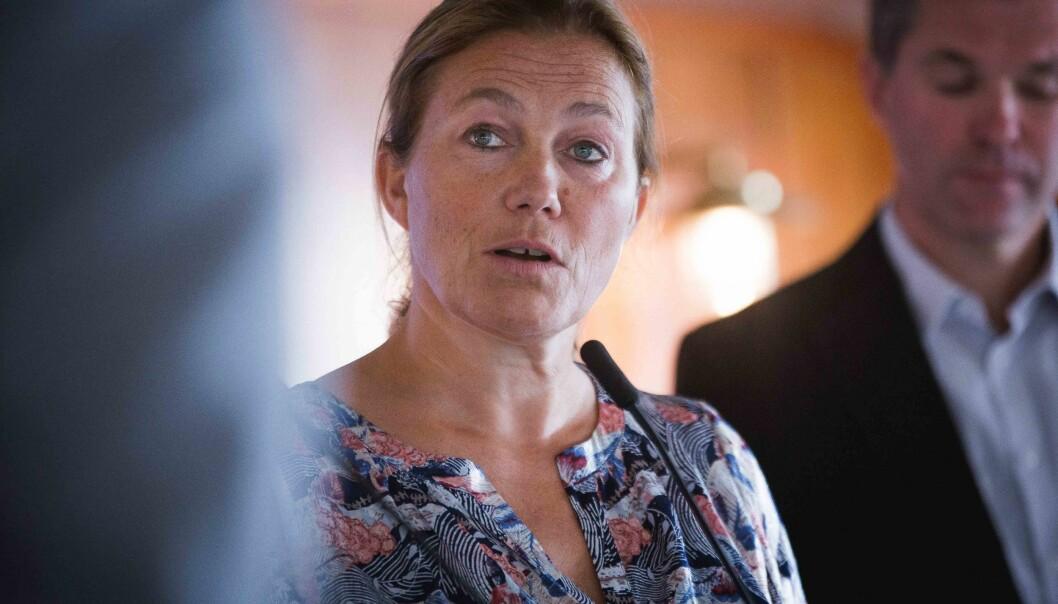 Godt resultat i 2020 og konsernsjef Alexandra Bech Gjørv i Sintef er fornøyd.