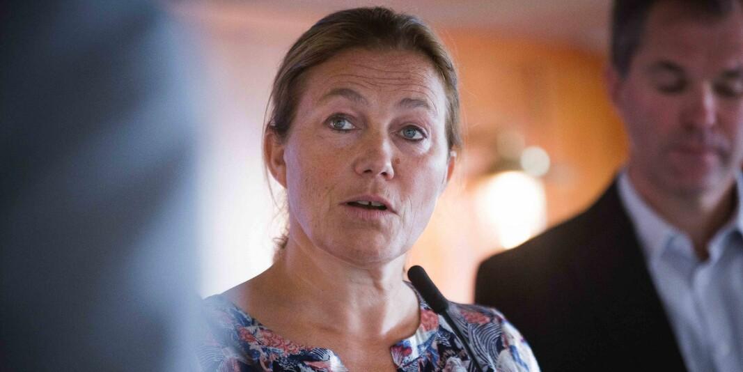 Konsernsjef i SINTEF, Alexandra Bech Gjørv, opplever at koronaviruset påvirker driften til forskningsinstituttet.