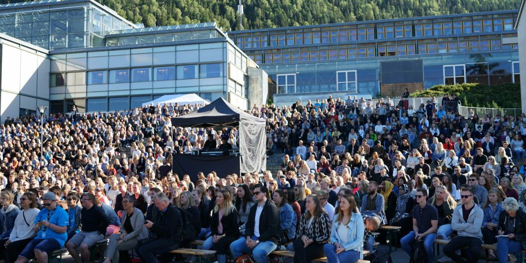 Studiestart, Høgskolen i Innlandet, Lillehammer