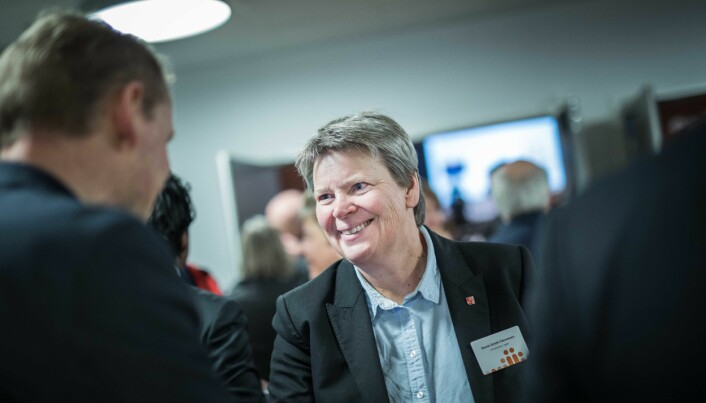 Direktør Seunn Smith-Tønnessen. Universitetet i Agder