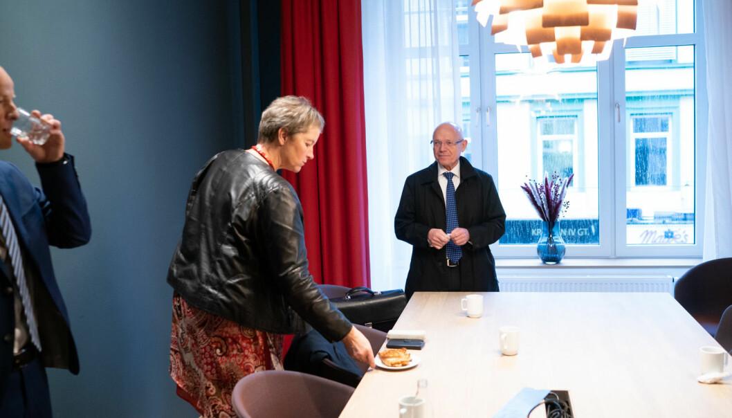 Rektor Hanne Solheim Hansen sier hun vil revurdere forslaget til studieportefølje for studiestedet i Vesterålen.