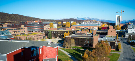 Campus på Universitetet i Tromsø