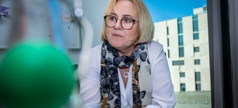 Helga Aune leder utvalget om ny UH-lov. Hos PwC. Foto: Siri Øverland Eriksen