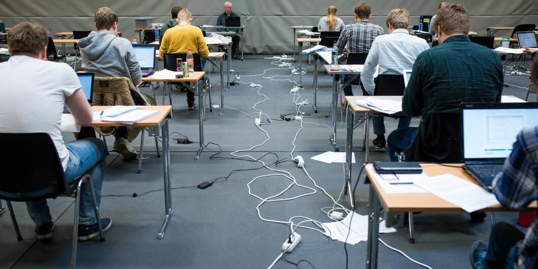 Det juridisk fakultet ved Universitetet i Bergen øker satsene til sensorene etter at de ble kjent med at de betalere dårligere enn blant annet Universitetet i Oslo. Foto: Skjalg Bøhmer Vold