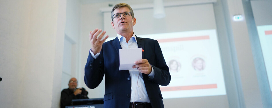 I kampen mot antifeminismen må vi stå skulder ved skulder, skriver rektor ved Universitetet i Oslo, Svein Stølen, i anledning kvinnedagen 8.mars. Foto: Ketil Blom Haugstulen
