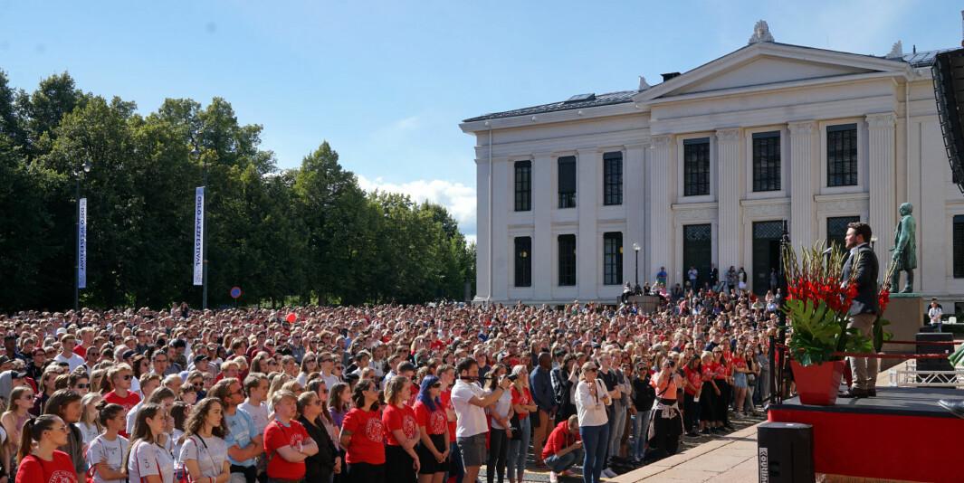 Ledelsen ved Universitetet i Oslo reagerer kraftig på innholdet i nytt samarbeid mellom Frp, Ap og SV, og trekker fram lav ledighet blant kandidater som har tatt høyere utdanning, når det sies at arbeidslivsrelevans på universiteter og høgskoler er for dårlig.