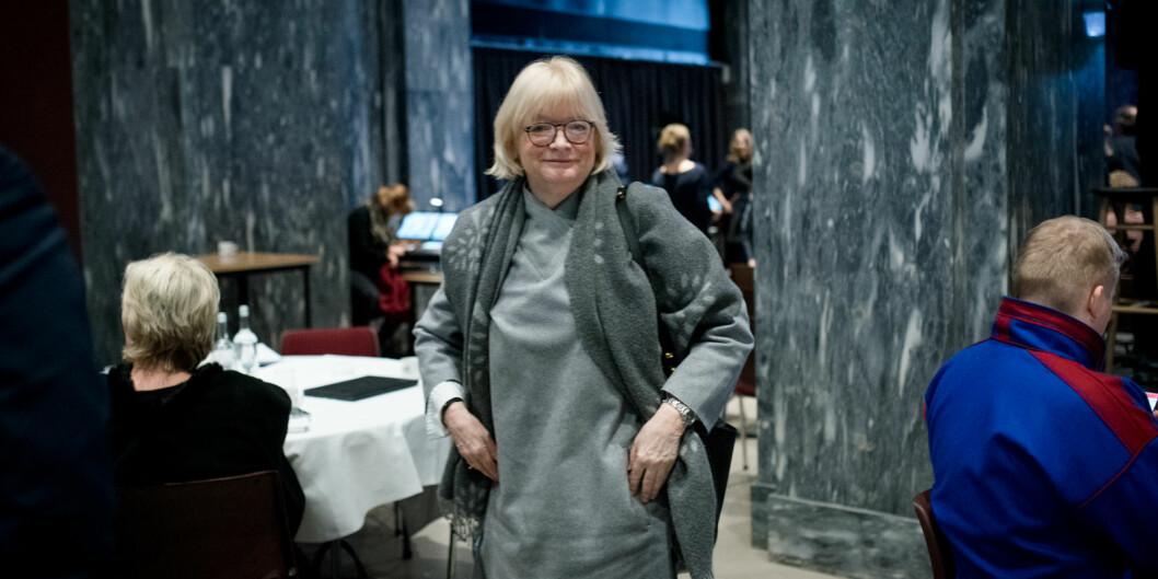 Berit Rokne har vært rektor ved Høgskulen på Vestlandet siden 1. januar 2017. Foto: Skjalg Bøhmer Vold