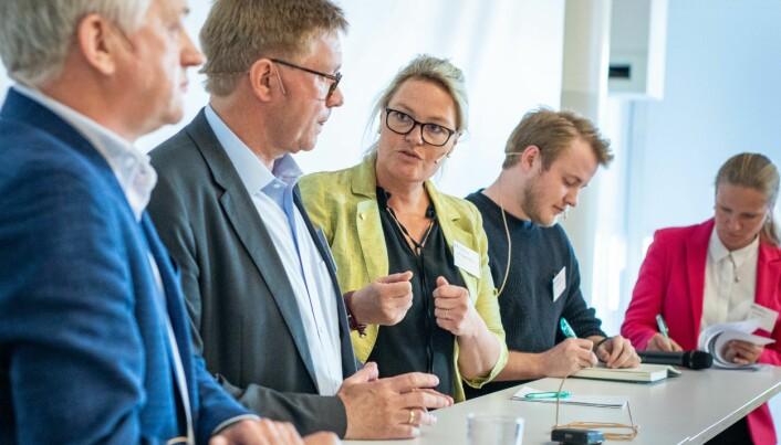 Nåværende prorektor for nyskaping, Toril A. Nagelhus Hernes, er ansatt i fire nye år.
