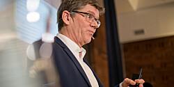 Rektor på UiO Svein Stølen på Kontaktkonferansen.