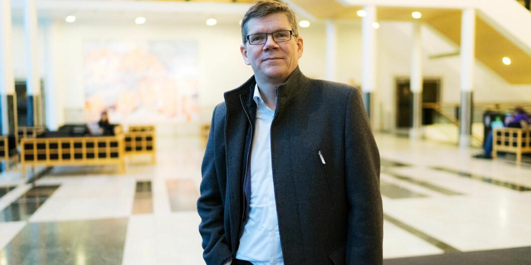 Svein Stølen, rektor på Universitetet i Oslo. Foto: Ketil Blom Haugstulen
