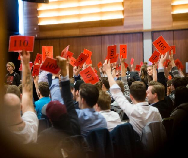 Følg lederdebatten i Norsk Studentorganisasjon