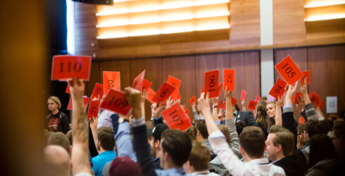 Alt er mulig med en samlet studentbevegelse