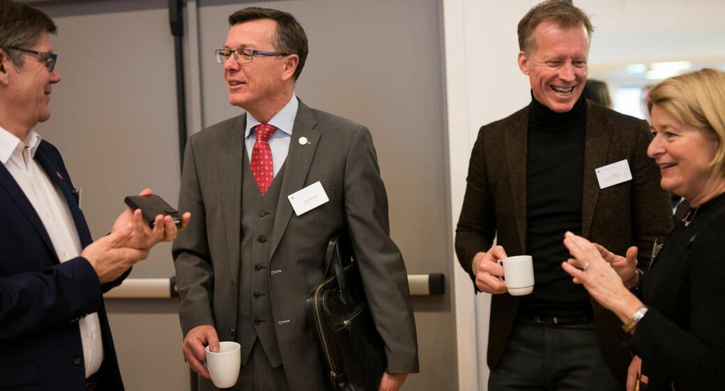Rektorene Svein Stølen (UiO), Dag Rune Olsen (UiB), Curt Rice (OsloMet) og Anne Husebekk (UiT) sine institusjoner er alle representert på U.S. News & Global Reports rangering, men bare en av dem kan juble for å være inne på topp 100.