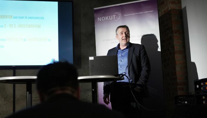 Nokuts analysedirektør Ole-Jacob Skodvin lover endringer i Studiebarometeret.