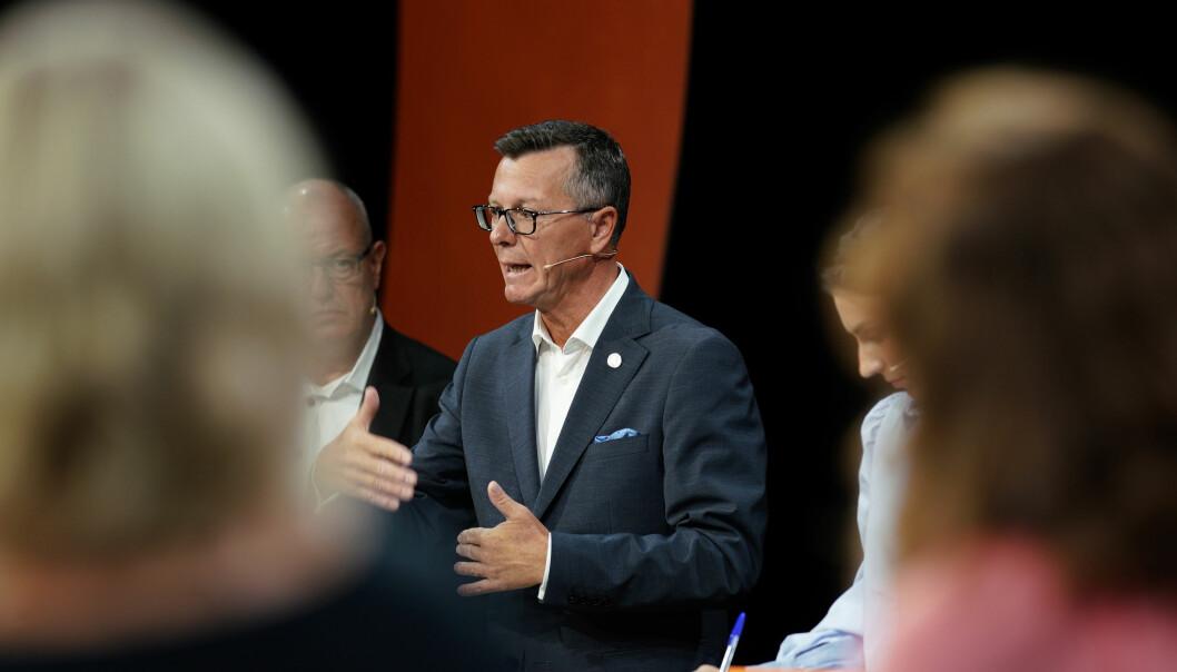 UiTs nye rektor Dag Rune Olsen er en av duellantene når akademias ansvar for innovasjon står på dagsorden på Arendalsuka mandag kveld.