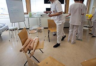Fleire droppar eksamen i medikamentrekning