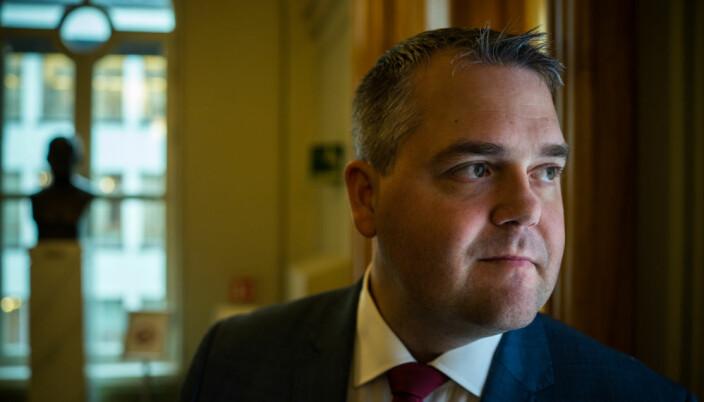 Roy Steffensen (FrP), leder i utdanningskomiteen på Stortinget.