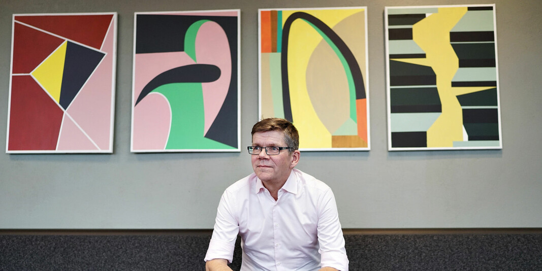 UiO-rektor Svein Stølen er sikker på at vi får se et større mangfold også ved norske universitet og høgskolerP i framtiden..
