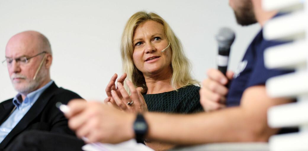 Gunn Enli er prodekan ved HF-fakultetet ved Universitetet i Oslo, og liker ikke at frafallet er såpass stort.