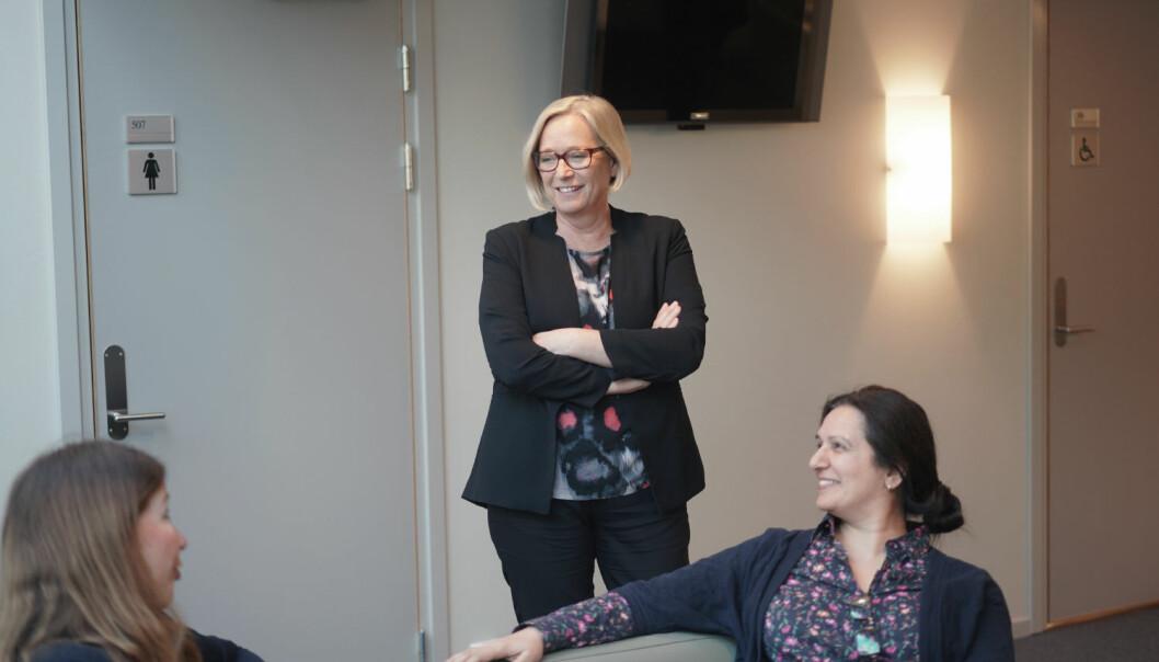 Marit Arnstad sitter i utdannings- og forskningskomiteen på stortinget. Hun leder også arbeidet med nytt program for Senterpartiet.