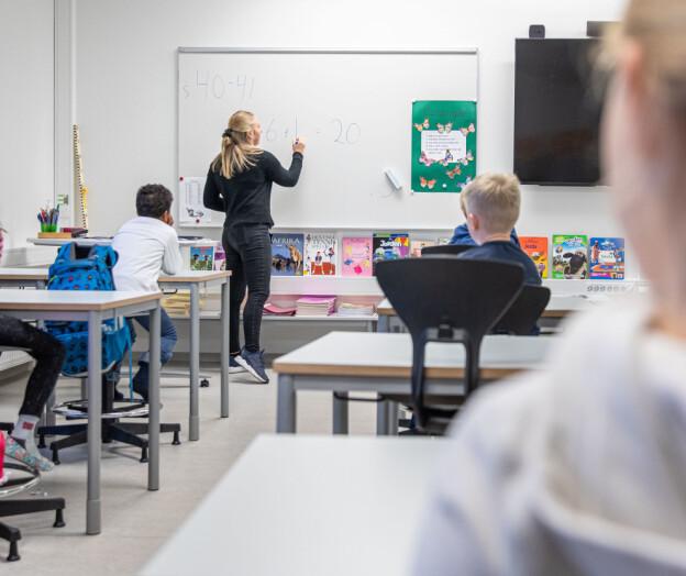 Hver fjerde lærerstudent strøk i matte