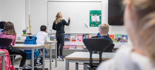 Får penger til å utdanne ukvalifiserte lærere