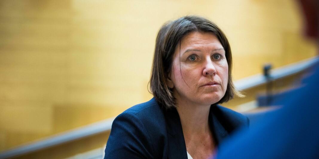 Kari Sollien, leder av Akademikerne håper statsbudsjettet for neste år vil gi en større satsing på forskning.