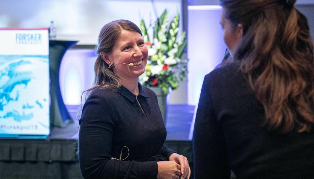 Guro Lind, leder Forskerforbundet, mener undersøkelsen viser at situasjonen for norsk forskning i kjølvannet av koronapandemien er svært alvorlig.