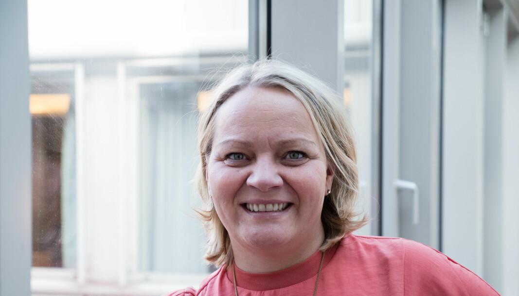 Mona Fagerås (SV), utdannings- og forskningskomiteen. SV fikk tommel ned for forslag om dagpenger til alle studenter.